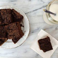Vegan Keto Protein Brownies.