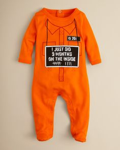 9 Month Onesie// This is hilarious :D
