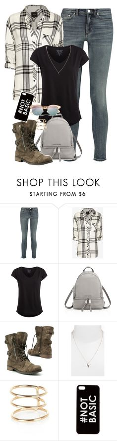 """""""Young Peter Hale"""" by nuria-bremer ❤ liked on Polyvore featuring Acne Studios, Rails, Pieces, MICHAEL Michael Kors, CO, Sugar Bean Jewelry, River Island, Zero Gravity and Le Specs"""