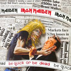 Be Quick or Be Dead   Eddie the Head through the years   Photos   Planet Rock