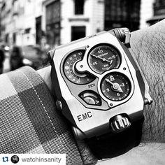 "#Repost @watchinsanity  @urwerkgeneve EMC ""Electro Mechanical Control"" a timepiece with artificial intelligence  #watchinsanity #thebillionairesclub #instawatch #timepieces #watchs #billionairetoys #dailywatch #luxurywatch #horology #watchporn #womw #tourbillon #chronograph #wristshot #watchesofinstagram #watchnerd #watchoftheday #horophile #wruw #luxury #mondani #rolexero #menswear #gentleman #orogoli #montres #reloj #watchanish #wristporn #thebillionairesclub by cristianjmunoz"