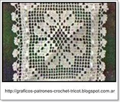 TEJIDOS A CROCHET - GANCHILLO - PATRONES: GANCHILLO = PORTA ROLLO TEJIDO A CROCHET CON SU ESQUEMA