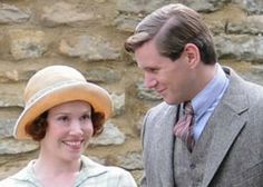2/21/14 10:20p Downton Abbey Season 4 Episode 7  Tom Branson and Sarah Bunting, local schoolteacher.  Allen Leech and Daisy Lewis.