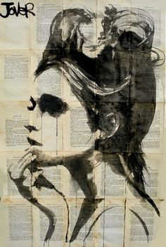 "Loui Jover; drawing; ""Ethereal"""