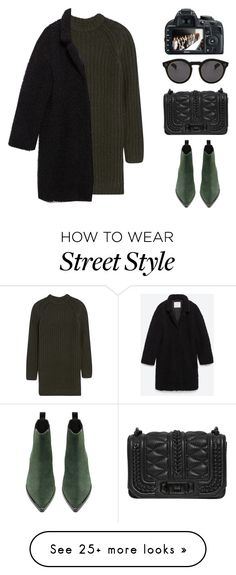 """""""Street Style N°16"""" by yellowgrapes on Polyvore featuring NLST, Zara, Acne Studios, Rebecca Minkoff, Illesteva, women's clothing, women's fashion, women, female and woman"""