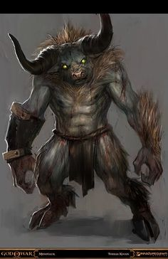 Encounter - Minotaur - Monster