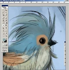 painting in Photoshop tutorial