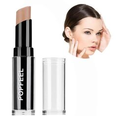 Popfeel 4 Colors Bronzer And Highlighter Makeup Powder Concealer Palette Long Lasting Facail Bronzers Highlighters For Face