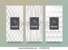 Find Vector Set Packaging Templates Different Texture stock images in HD and millions of other royalty-free stock photos, illustrations and vectors in the Shutterstock collection. Thousands of new, high-quality pictures added every day. Different Textures, Royalty Free Stock Photos, Packaging, Templates, Frame, Illustration, Logo Design, Pictures, Luxury