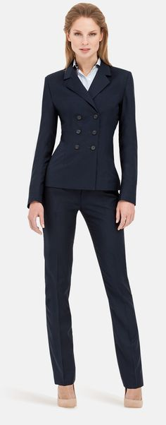 Pant Suits for Women [Made-to-Measure] Custom Pant Suits for Women Blazers For Women, Suits For Women, Jackets For Women, Ladies Pant Suits, Dapper Suits, Women's Suits, Preppy Casual, Work Suits, Suit Fashion