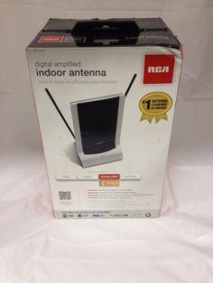 RCA ANT1251F Digital Amplified Indoor Antenna HDTV TV 1080 #RCA