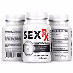 Sex RX Male Enhancement Supplement Ultra Powerful Men's Sexual Enhancing Pills #Nutriment