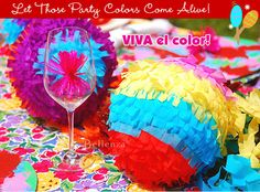 A slideshow of festive Cinco de Mayo party ideas perfect for rehearsal dinners or engagement parties. See the post: http://www.bellenza.com/wedding-ideas/photo-gallery/cinco-de-mayo-party-ideas-for-a-fiesta-style-engagement-party.html