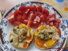 Grilovaný hermelín se zeleninou