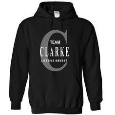 CLARKE - #gift for girls #gift certificate. BEST BUY => https://www.sunfrog.com/No-Category/CLARKE-6881-Black-28302618-Hoodie.html?68278