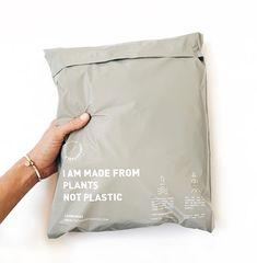 Grey Happy Plant Mailer (x100) – The Happy Bag Co.
