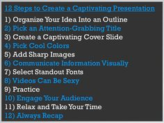 How to create a captivating presentation