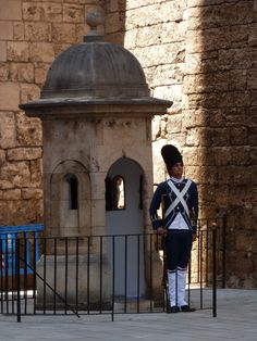 Garita al Palau de la Almudaina.