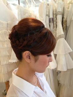 夜会巻き on Pinterest | Hair Arrange ...