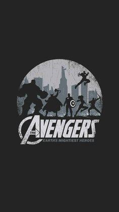 Wallpaper of iPhone from Earth Heroes Avengers - Marvel Comics Marvel Avengers, Marvel Art, Marvel Heroes, Films Marvel, Marvel Characters, Marvel Cinematic, Poster Marvel, Die Rächer, Civil War Art