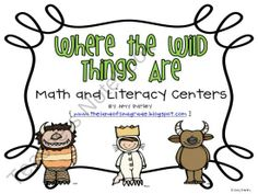 Where the Wild Things Are Unit from The Land of 2nd Grade on TeachersNotebook.com (53 pages)