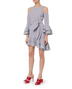 Shop the Exclusive for Intermix Ellie Cold Shoulder Asymmetrical Dress & other designer styles at IntermixOnline.com. Free shipping +$150.