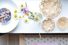 flowers and baskets - ledansla