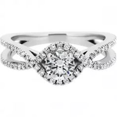 Micro Pavé Weave Engagement Ring Ethical Engagement Ring From Ingle and Rhode