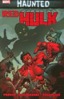 The Energy Analyzer: Comic Book Commentary: Red Hulk: Haunted TPB: zero/one is cool...red She-Hulk is here to help Legion of Monsters with WWII Cthulhu stuff and a ghost of Doc Green hair...also has Hyderabad serial-killer?!