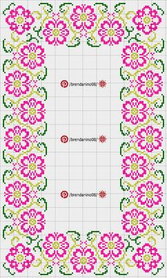 Cross Stitch Rose, Cross Stitch Borders, Cross Stitch Alphabet, Cross Stitch Flowers, Cross Stitch Designs, Cross Stitching, Cross Stitch Patterns, Hardanger Embroidery, Beaded Embroidery