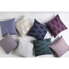 Surya Decorative Ledo 22-inch Poly or Down Filled Throw Pillow