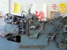 1950(?) Glockner printing press