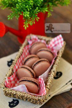 Bake for Happy Kids: Chocolate French Macarons (Italian Meringue)