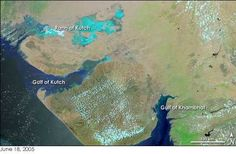 To the northwest of Lothal (2400 BCE) lies the Kutch peninsula. Proximity to the Gulf of Khambhat allowed direct access to sea routes. Lothal's topography and geology reflects its maritime past.
