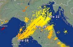 Tanker Enemy Meteo - Chemtrails forecast meteo: Firenze: ancora un nubifragio da guerra climatica?...