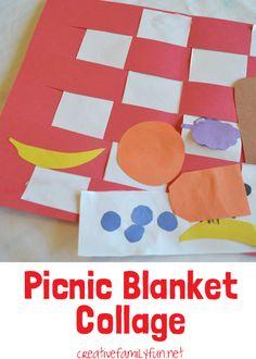 Creative Family Fun: Picnic Blanket Collage