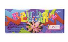 Rainbow rubber band Loom Kit