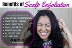 Scalp Remedies Benefits of Scalp Exfoliation for Natural Hair Growth, Scalp Exfoliation Hair… - Scalp exfoliation is one treatment everyone should be incorporating into their wash day routine each time you clarify your hair for healthy hair growth. Scalp Scrub, Itchy Scalp, How To Exfoliate Skin, Hair Scalp, Dry Scalp, Healthy Hair Growth, Natural Hair Growth, Natural Hair Styles, Beauty Care