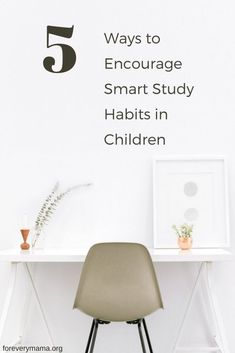 During the summer months, it is even more important that your child develops smart study habits so they are ready to go when the new school year is here, and they don't fall behind. Here are 5 ways to encourage smart study habits in your children. #learningactivities #studyhabits #education