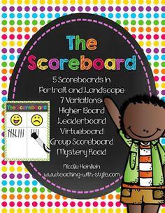 Great post with a freebie for The Scoreboard from Whole Brain Teaching With Style