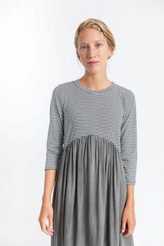 Clara Dress Charcoal