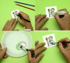 Tarjetas de Rasca para tus regalos sorpresa   Manualidades Infantiles