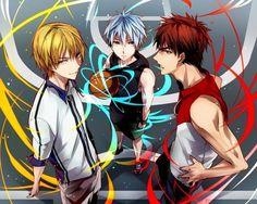 Kise Ryota & Kuroko Tetsuya & Kagami Taiga | Kuroko no Basket #anime