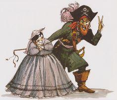 Angry AP - Disneyland and Walt Disney World nostalgia: Amazing Pirates of the Caribbean Concept Art