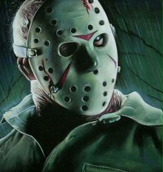 Jason Voorhees-Friday The Horror Icons, Horror Films, Horror Art, Jason Friday, Friday The 13th, Happy Friday, Jason Voorhees, Michael Myers Face, Halloween Sounds