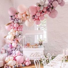 """The Original Party Bag Company on Instagram: """"Simply 💕 #babyshowerpartydreams #boutiqueballoons #balloongarland #babygirl #stylish #fun #partysupplies #OPBCo 💫"""""""
