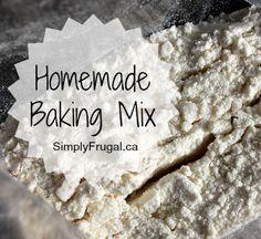 Homemade Baking Mix (Bisquick)