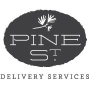 Pine St. Logo. (Unable to find designer info)