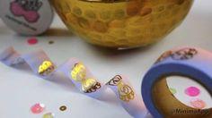 Washi Tape  Gold Bows