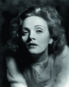 Marlene Dietrich (1901-1992) - German actress and singer. Photo 1930 by ER Richee